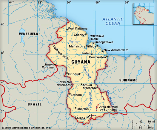 Essequibo belongs to Guyana! – Ministry of Foreign Affairs ...