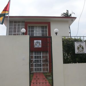 Embassy located in Miramar, Havana