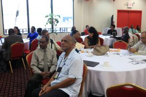 Participants of the recent Diaspora Engagement Conference held by the University of Guyana.