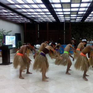 Dance troupe: Ballet de la Television Cubana- adopted by the Guyana Embassy in Havana.